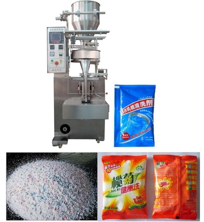 High Speed Automated Packing Machine , Washing Powder Filling And Packing Machine