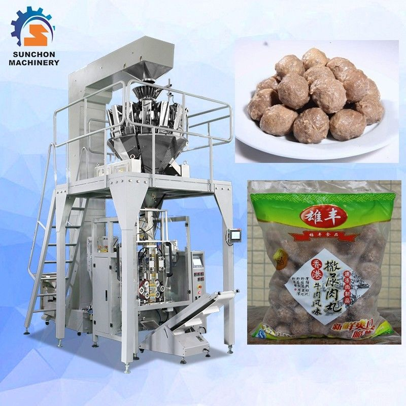 100g~1kg Barley chickpeas  Pluses Grain Snack Dry Fruit Crisps Pellet Automatic Vertical Packaging Machine